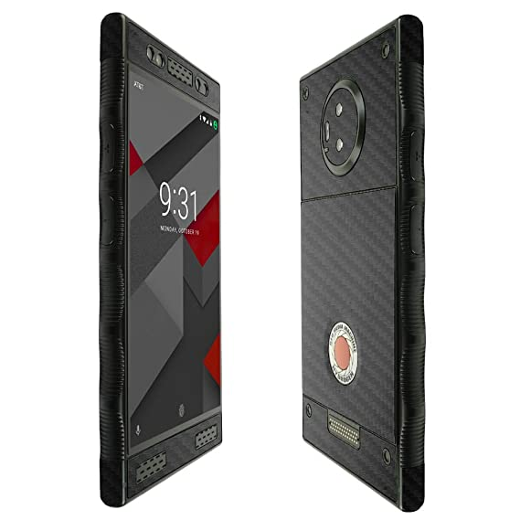 Red Hydrogen One Screen Protector + Carbon Fiber Full Body, Skinomi  TechSkin Carbon Fiber Skin for Red Hydrogen One with Anti-Bubble Clear Film  Screen