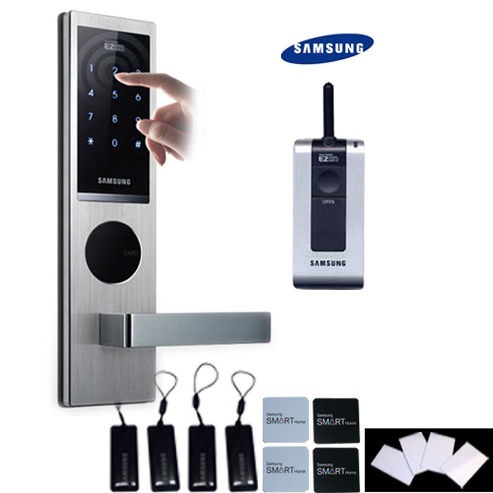 SHS H630 SAMSUNG-neue version SAMSUNG SHS - 6020 Digitales Türschloss schlüsselloses touchpad Sicherheit EZON thumbnail