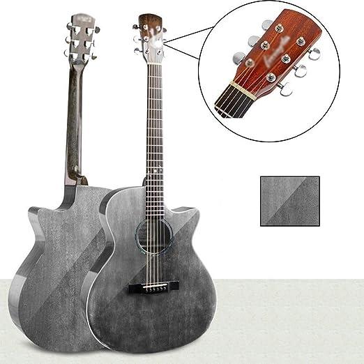 Guitarra folk pop Guitarra clásica acústica con cuerdas de acero ...