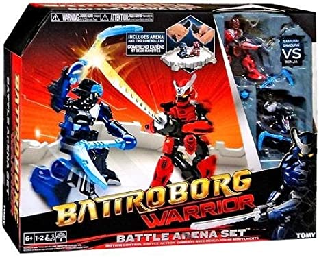 Amazon.com: Battroborg Warrior Robot Battling Arena: Samurai ...