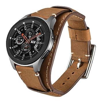 Leotop Correa Compatible con Samsung Galaxy Watch 42mm/Active ...