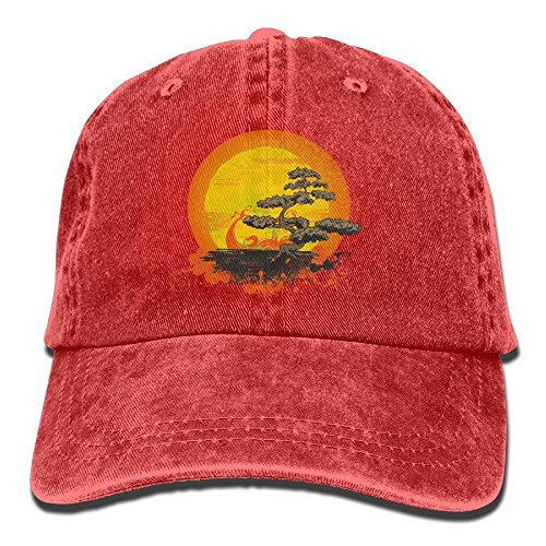 Jean Hat Tree Bonsai Gorras Plain Baseball béisbol Adjustable Cap Denim hanbaozhou Female vOgwq
