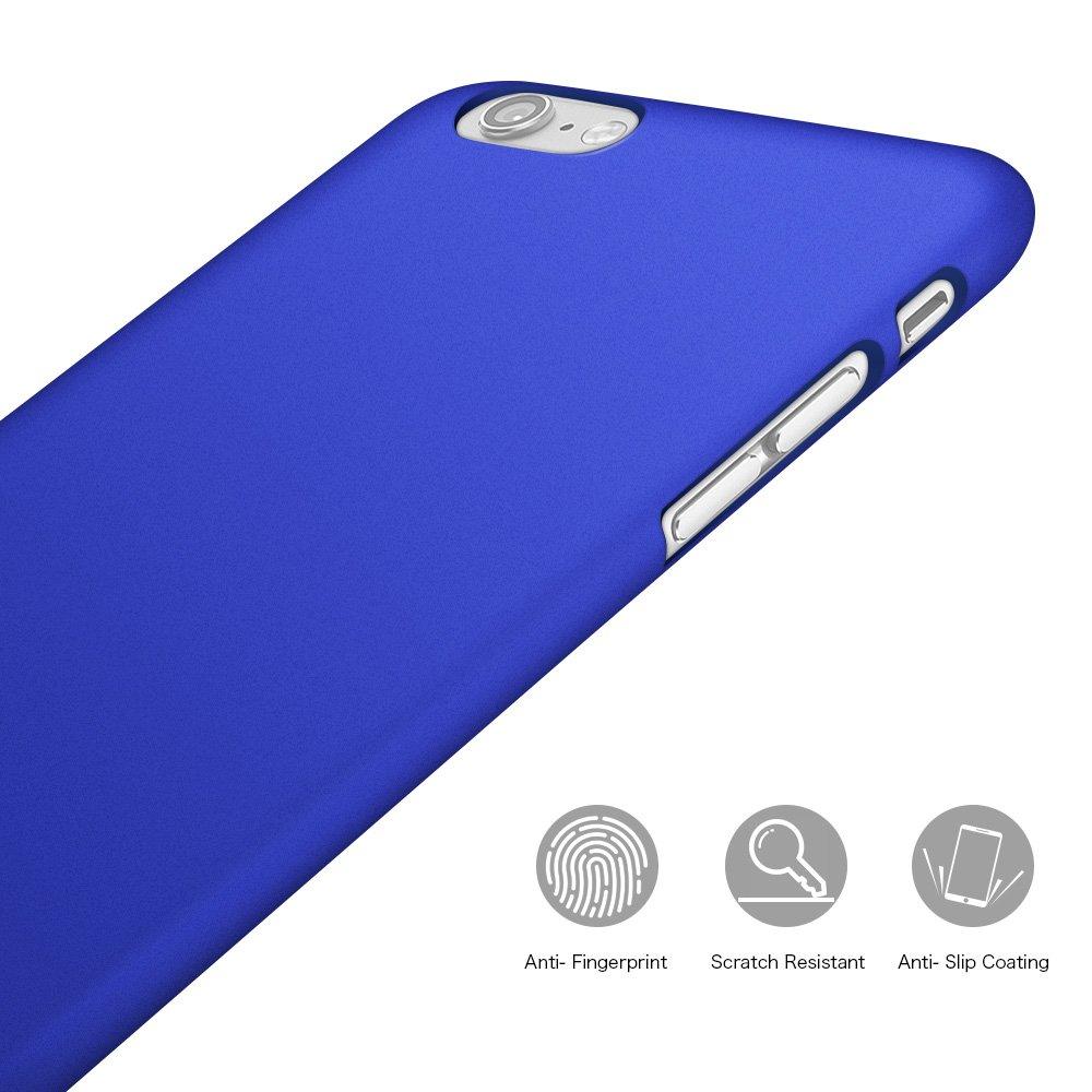 Custodia in Plastica Rigida Opaco Ultra Sottile Anti Scivolo Anti-Graffio Protezione Case per Huawei Honor 9 Lite 5.65 Riffue Cover Honor 9 Lite Blu