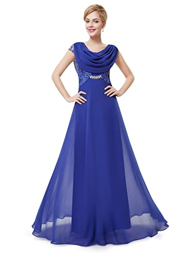 Ever Pretty Elegant Cowl Neck Sequin Evening Dress 09989