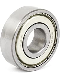 Uxcell a15011600ux0091 6201Z 12 x 32 x 10mm Metal Sealed Radial Deep Groove Row Ball Bearings