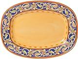 Pfaltzgraff Villa Della Luna Rectangular Serving Platter 12-Inch  sc 1 st  Amazon.com & Amazon.com | Pfaltzgraff Villa Della Luna Blue Dinnerware Set (32 ...