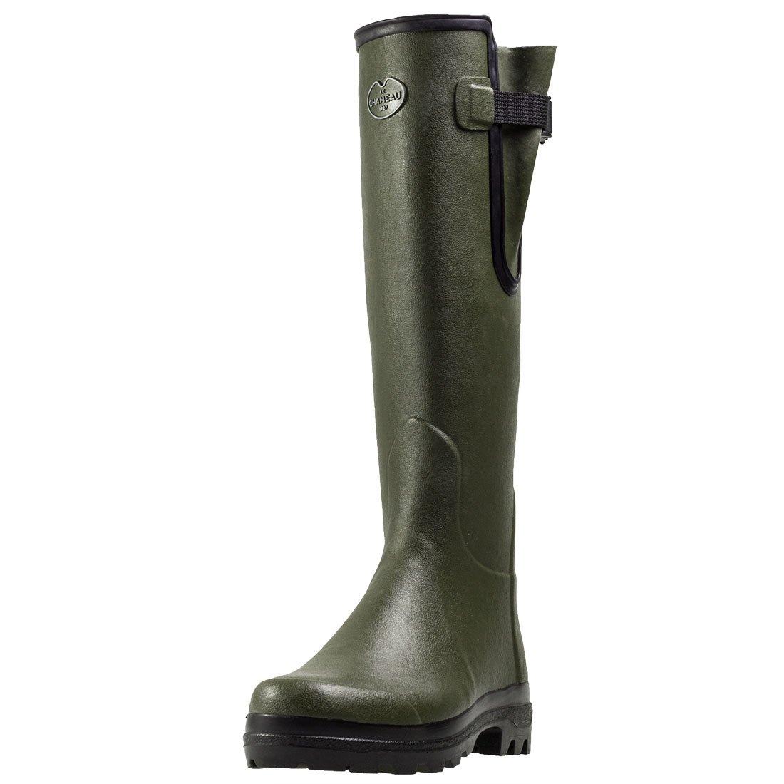 Le Chameau Footwear Women's Vierzon Jersey Boot, Chameau Green, 40 EU/8 M US by Le Chameau