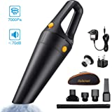 Wango® Cordless Handheld Vacuum Cleaner, 7Kpa High Suction Handheld Vacuums, Lightweight & Rechargeable Wet Dry Vacuum for Home & Car
