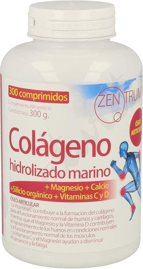 Zentrum Colágeno Hidrolizado Con Magnesio 300 Comprimidos de Ynsadiet