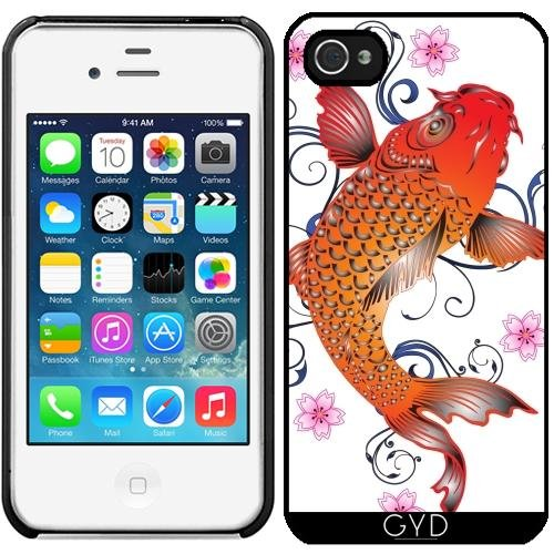 Coque pour Iphone 4/4S - Poisson Koi Asie Océan Sous-marin by WonderfulDreamPicture