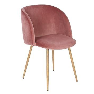 Gut WarmCentre Mid Century Samt Sessel Akzent Stuhl Premium Design Stoff Sitz  Rückenlehne Lounge Für Wohnzimmer,