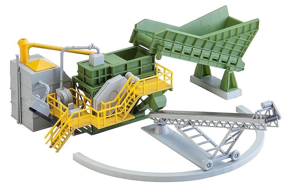Faller FA 130173 - Romper mordaza con cinta transportadora, accesorios para el diseño de ferrocarril, modelo: Amazon.es: Juguetes y juegos