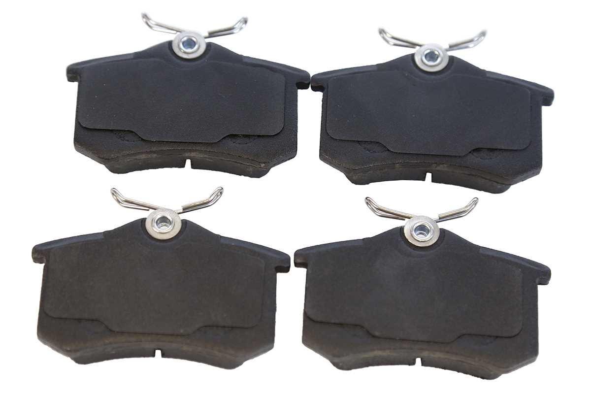 Prime Choice Auto Parts RSMK44146-44146-340-2-4 Set of Rear Brake Rotors and Metallic Brake Pads