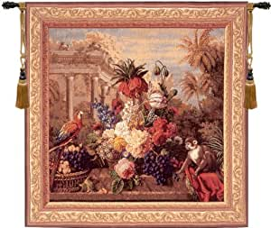 Tapestry extra large tall elegant fine for Bouquet exotique