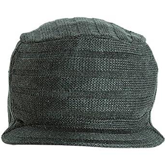 Vans Men s Square Peg Snowboard Ski Visor Beanie Hat Cap - Charcoal ... 641e9299df42