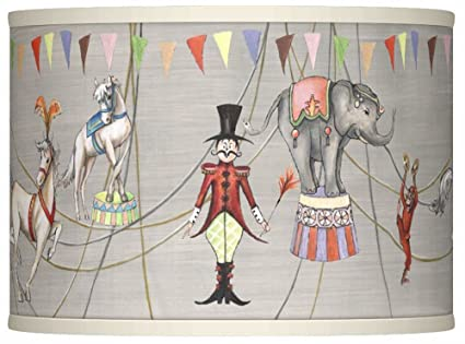 Circus time giclee lamp shade 135x135x10 spider amazon circus time giclee lamp shade 135x135x10 spider aloadofball Gallery