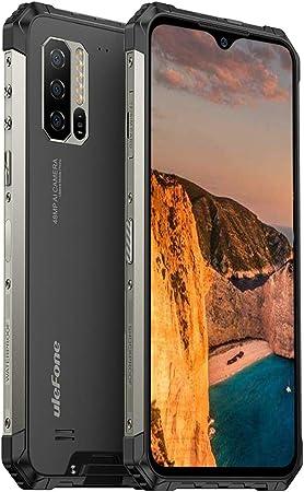 NFC GPS 128GB ROM 6,3-Zoll-FHD+ 5500 mAh-Akku Android 10 IP68 Robust Smartphone,48 MP Kamera Helio P90 Octa Core 8GB RAM Qi Drahtlose Ladung Ulefone Armor 7【2020】 Outdoor Handy ohne Vertrag