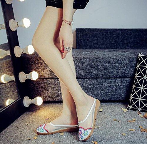 Pantofole Pantofole Donna Lazutom Lazutom Beige Donna f8q1ntYx