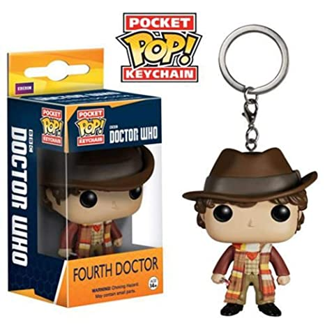 Amazon.com: 4 TH DOCTOR LLAVERO FIG 4 CM POCKET POP DOCTOR ...