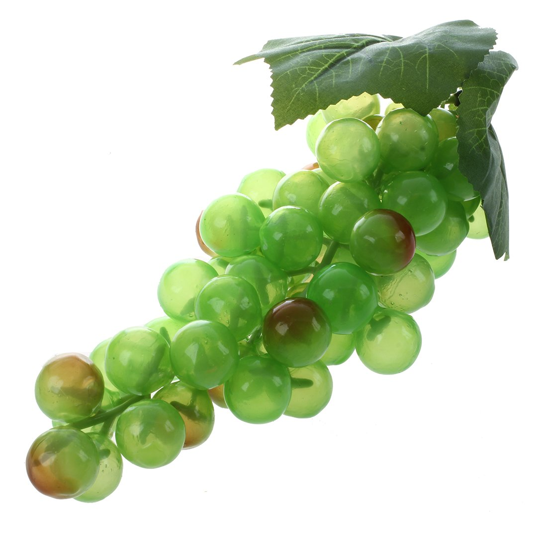 SODIAL(R) 8' Fruit Raisin Grappe Artificiel Deco DIY Maison Magasin Fete VERT TRTA11A