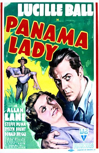 Lucille Ball and Allan Lane in Panama Lady Poster