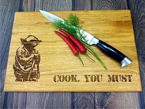 Cook you must STAR WARS Handmade cutting board