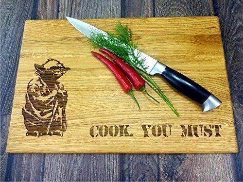Cook you must STAR WARS Handmade cutting board