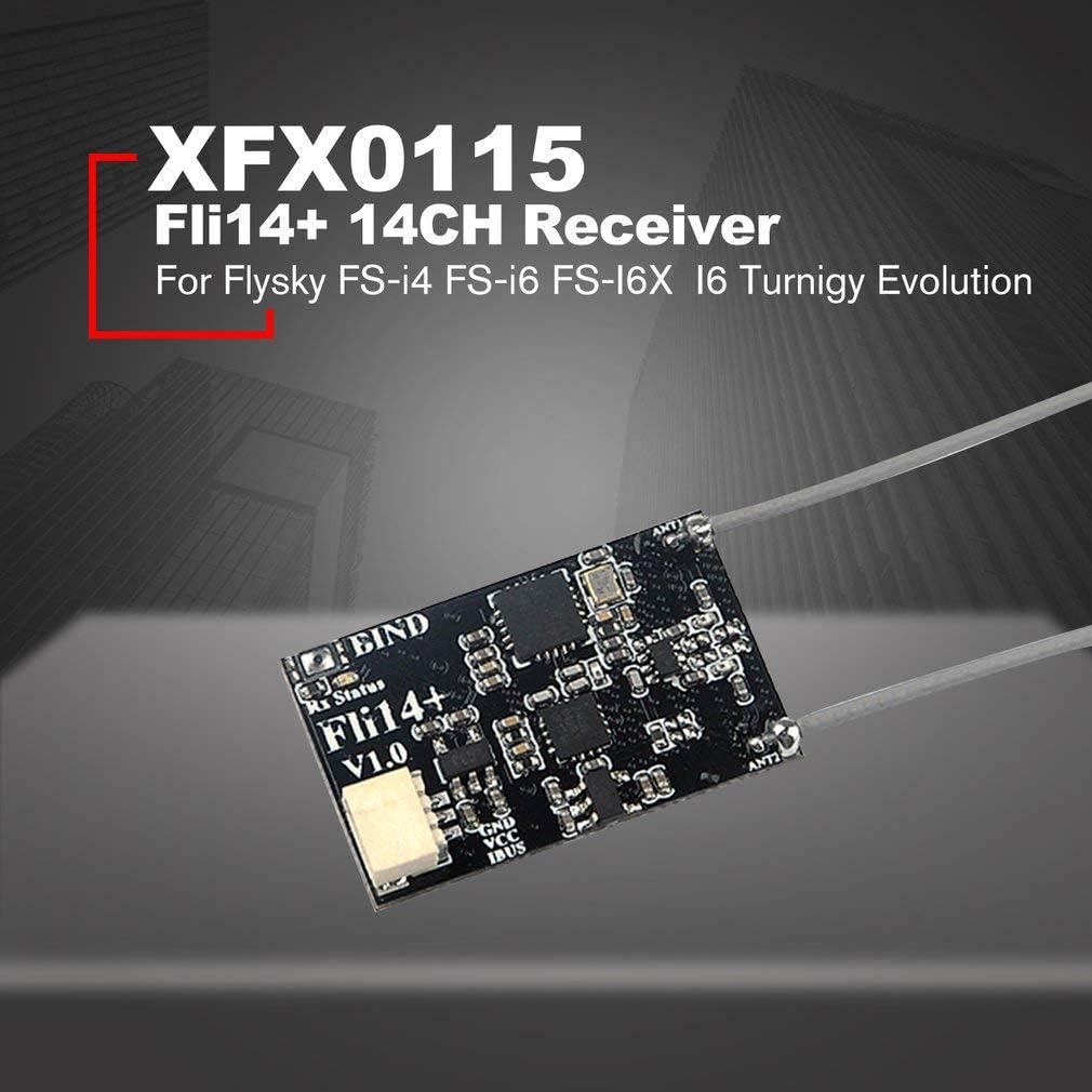 14-Kanal-Fli14-Empfänger mit PA-OSD-RSSI für Flysky FS-i4 FS-i6 FS-I6X FS-i6S