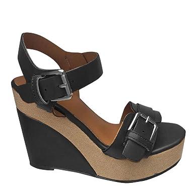 867fdd64833d6 Amazon.com: Veodhekai Women Platform High Wedge Heel Sandals Peep ...