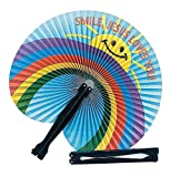 Religious Folding Fans (12 Pack) - Sunday School & Party Supplies