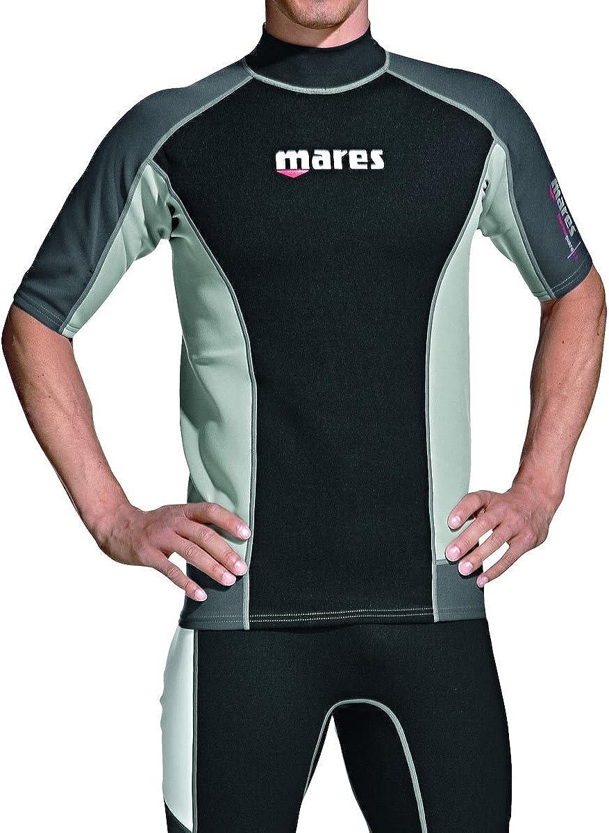 Mares Rash Guard Top - Mens Short Sleeve-XXXL