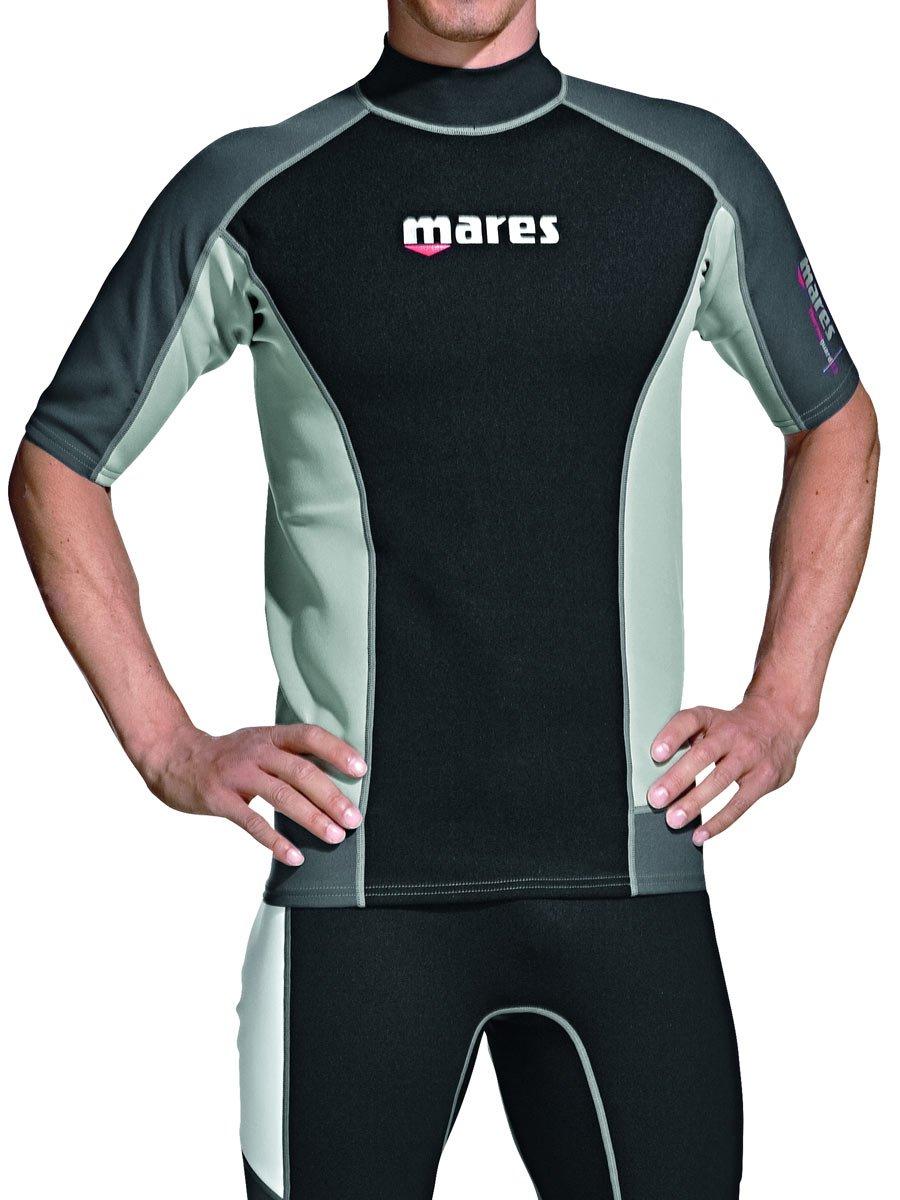 Mares Shorts Sleeve Trilastic Rash Guard Phantom Aquatics