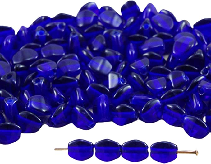 Pearls facet rectangular dark blue glass jewelry making,crystal,wire of 59 rectangle pearl creative supplies glass beads