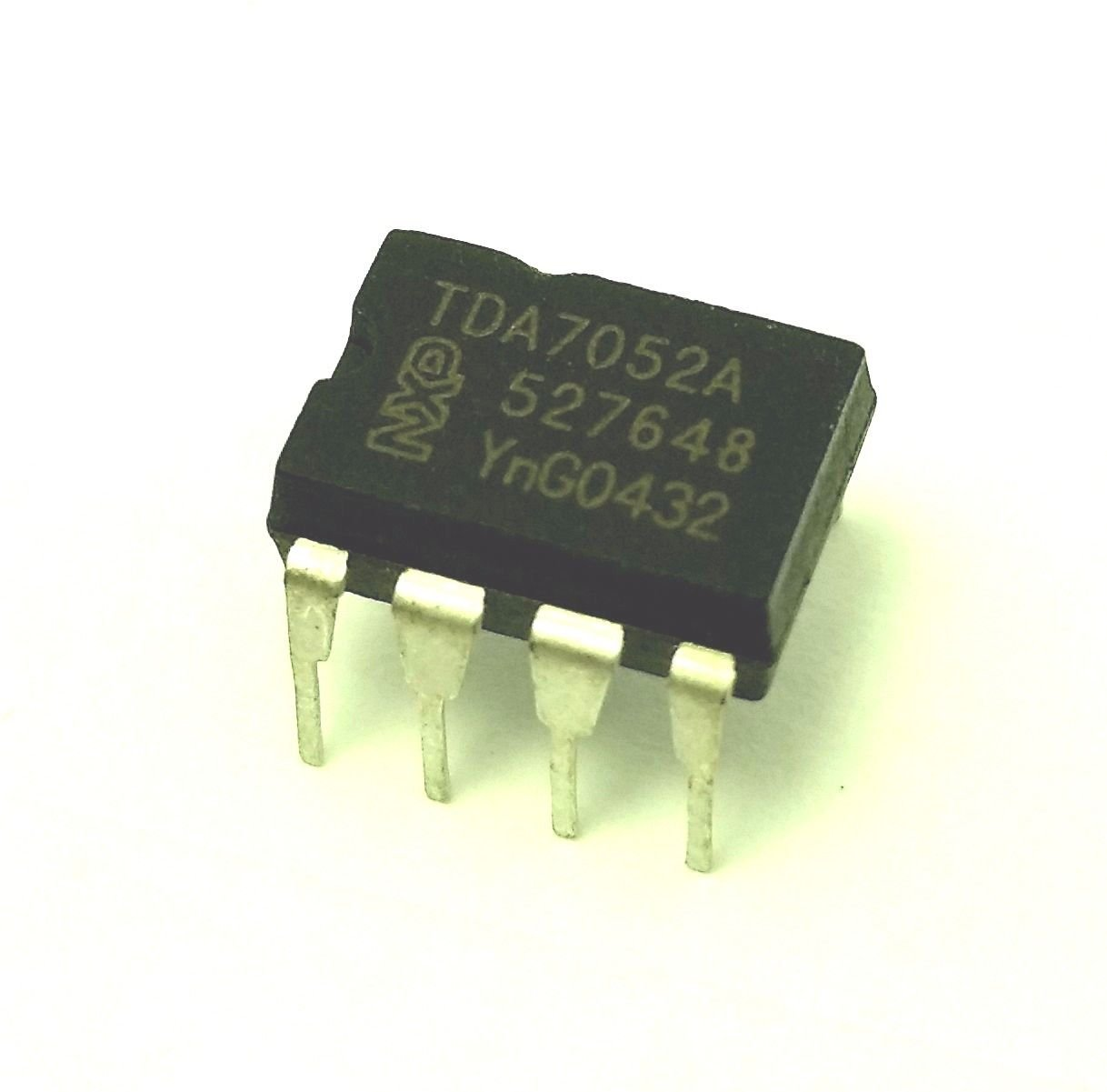 Pack of 5 Philips//NXP TDA7052A IC Mono Audio Amplifier /& 8-Pin DIP Sockets with Machined Contact Pins