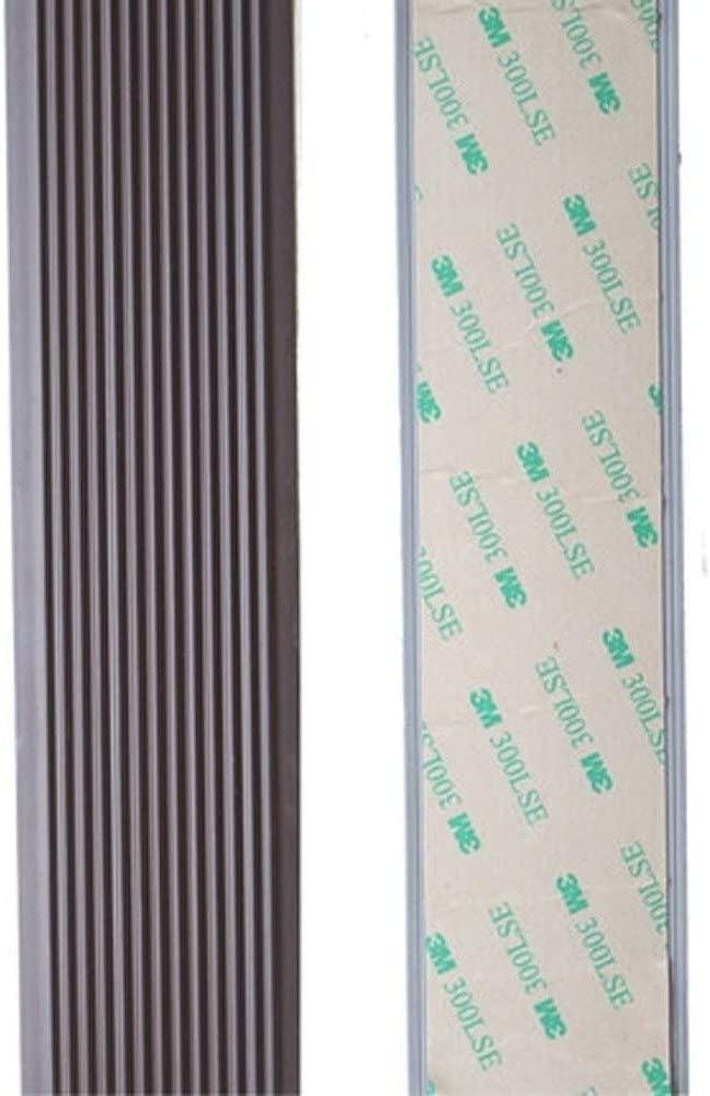 PVC escalera antideslizante de Gaza Paso antideslizante Mat autoadhesivas de goma antideslizante Rampa Paso Adhesivo huellas de escal/ón antideslizante cinta de etiquetas de alta tracci/ón Seguridad 022