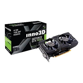 InnoVISION Inno3D Nvidia Geforce GTX 1050 Ti 4 GB GDDR5 ...