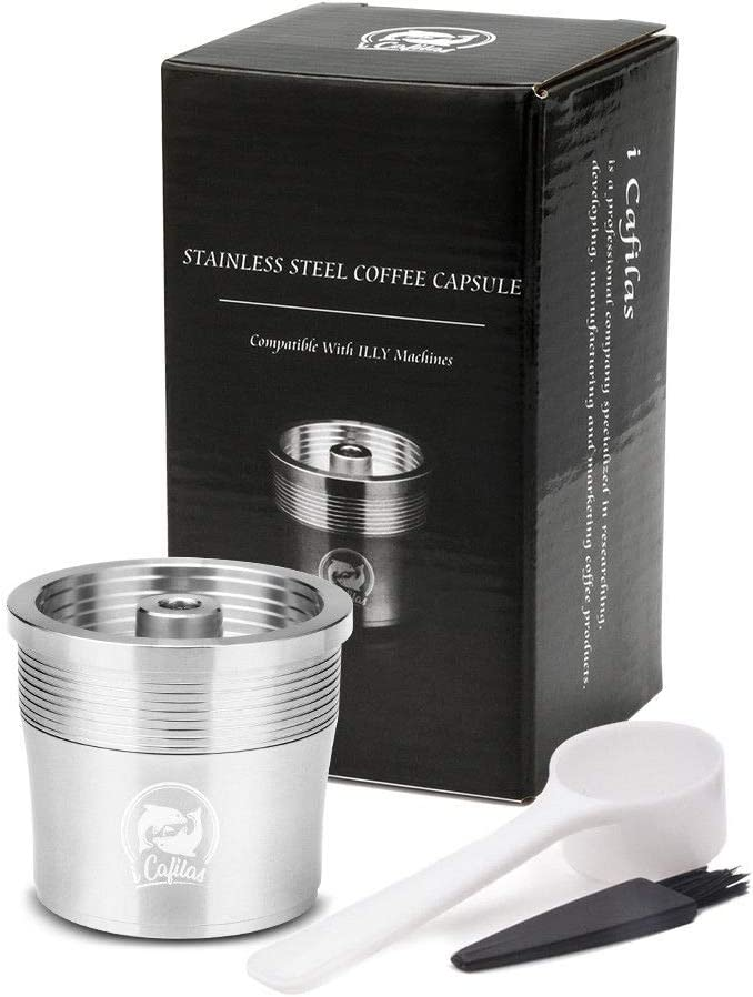 taza Reutilizable La Cápsula del café de la Cápsula Recargable ...