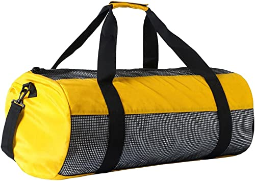 Swimming Beach and Sports Equipment Snorkeling Jili Online Drawstring Mesh Gear Bag For Scuba Diving