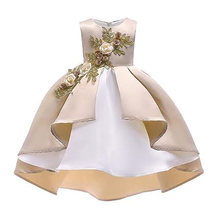Abiti da festa per ragazza Vestito da cerimonia nuziale della principessa  dello spettacolo di cerimonia nuziale b6cd2a43064