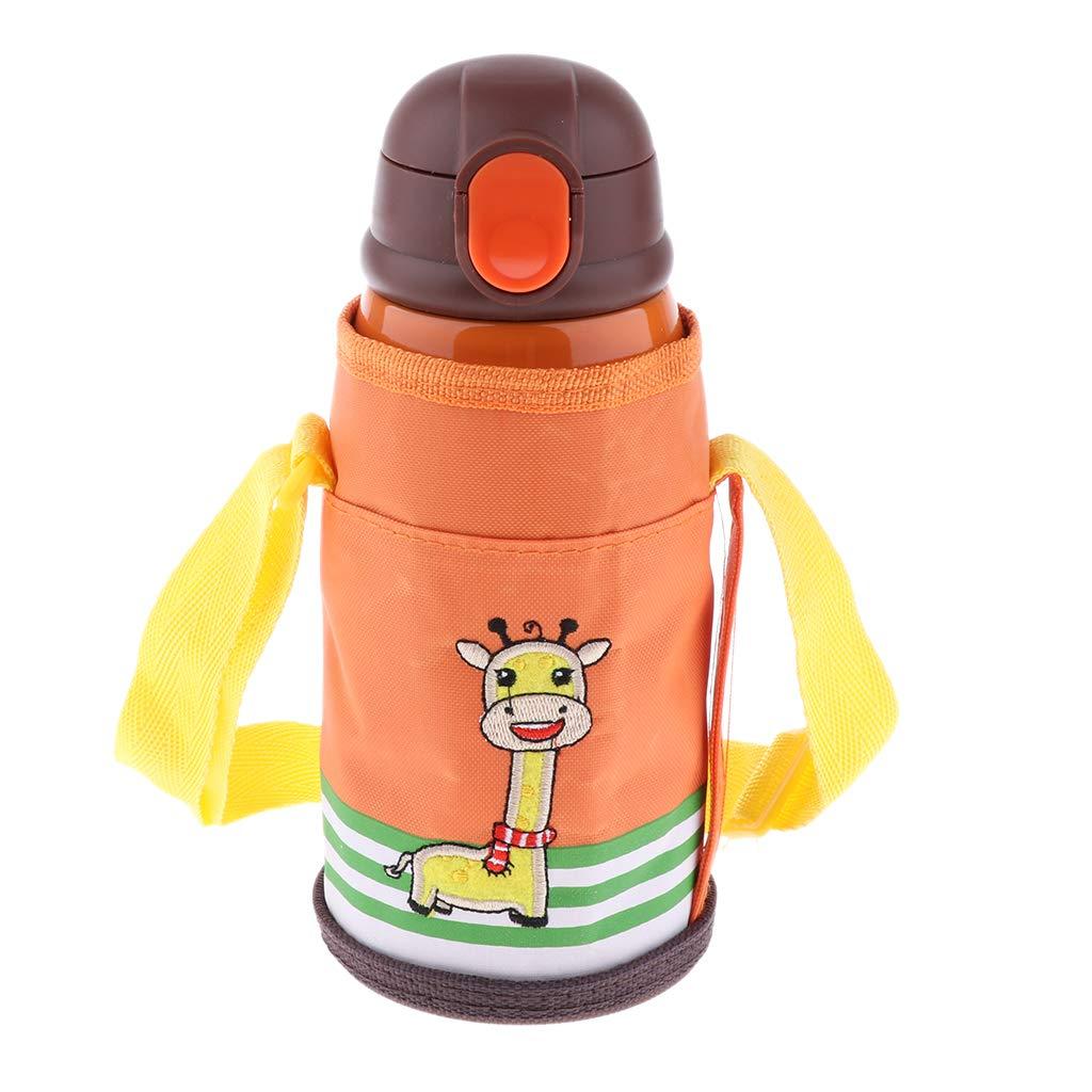 Individual F Fityle Taza de Vac/ío de Ni/ños De Acero Inoxidable Botella De Agua Caliente Doble Aislar Cordero