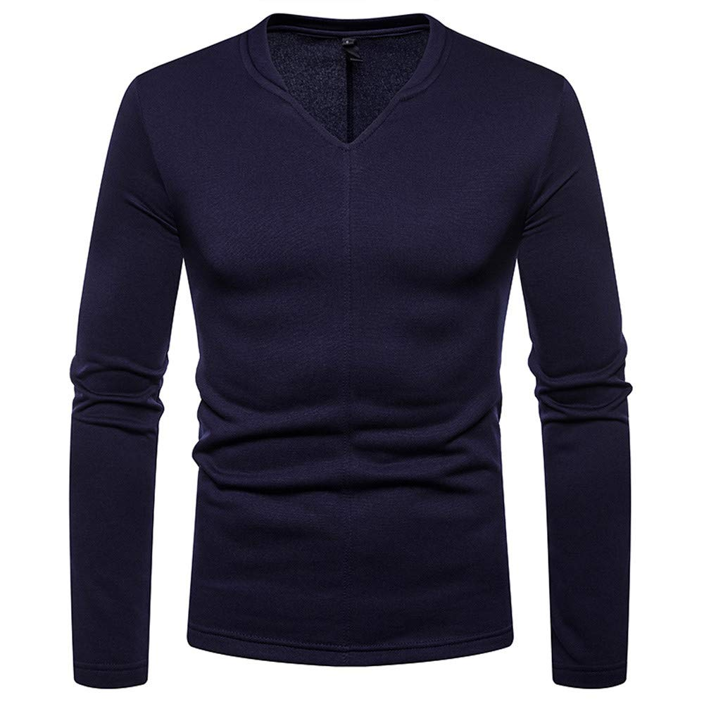 Blouse Clearance Tops AfterSo Men Fahion V-Neck Sweatshirt Sweaters Pullover