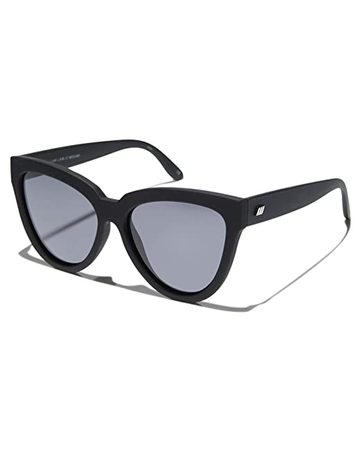 Le Specs Liar Lair Black Rubber Cat Eye gafas de sol Talla ...