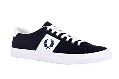 f95e0c92342 Fred Perry Baskets Tissu Homme  Amazon.fr  Chaussures et Sacs
