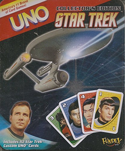 Star Trek UNO - Special Edition - Collector's Tin - Card Game (Special Edition Tin)