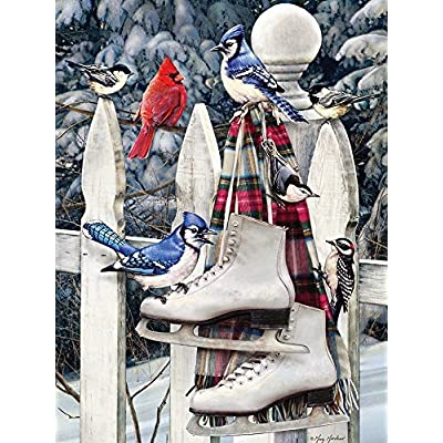 Cobble Hill Birds With Skates Jigsaw Puzzle 500 Piece