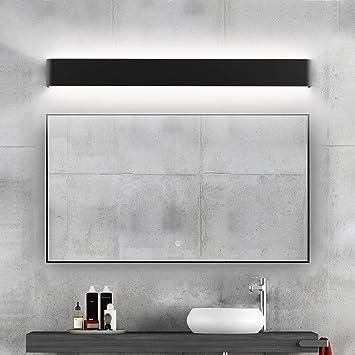 Ralbay Modern Black Bathroom Vanity Light 32 6inch Vanity Light For Bathroom 30w Up And Down Indoor Wall Lighting Fixtures Natural White 4000k Amazon Com