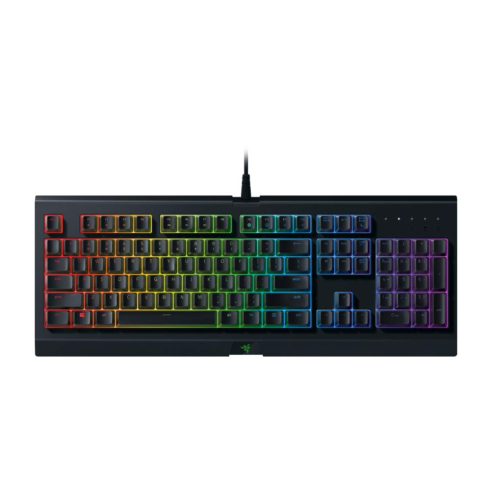 Razer Cynosa Chroma Gaming Keyboard: Customizable Chroma RGB Lighting - Individually Backlit Keys - Spill-Resistant Design - Programmable Macro Functionality