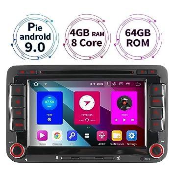 junhua 7 Android 8.0 DVD GPS Navi Auto Radio para Volkswagen ...