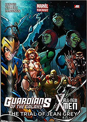 Amazon Guardians Of The Galaxyall New X Men The Trial Of Jean