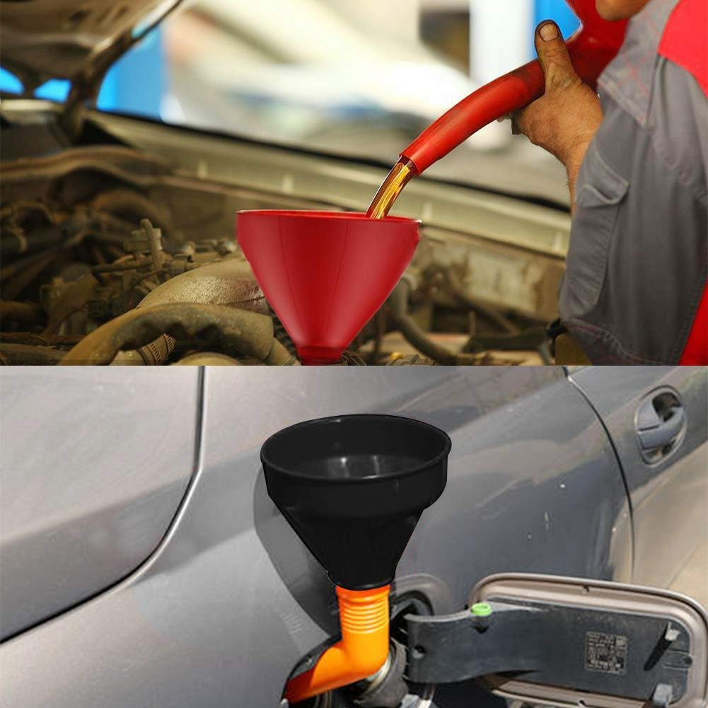 2 Pack Car Snow Removal Shovel Tool Magic Cone-Shaped Car Windshield Ice Scrapers FEBSNOW Round Windshield Ice Scrapers